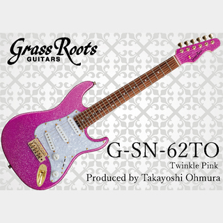 GrassRoots G-SN-62TO Twinkle Pink