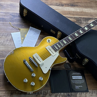 Gibson Custom Shop 1968 Les Paul Standard Heavy Aged Gold Top