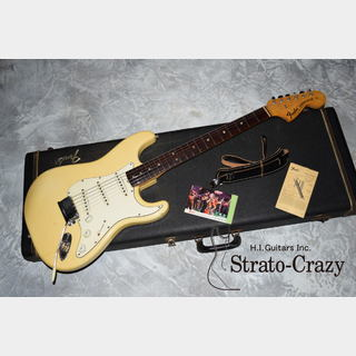 Fender Stratocaster '69 Olympic White/Rose neck, Clean!!