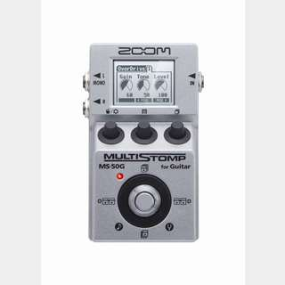 ZOOM MS-50G MultiStomp Guitar Pedal【池袋店】