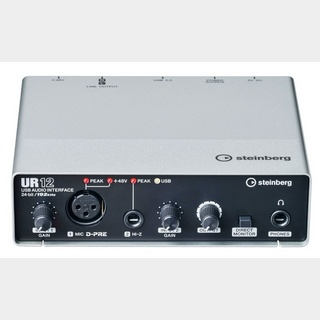 SteinbergUR12 2 x 2 USB Audio-Interface 【未開封品!】