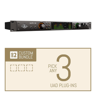 Universal Audio Apollo X6 / Custom 3 Upgrade