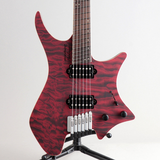 strandberg Boden J6 Custom 6A Quilted Maple Red Tiger/NMF