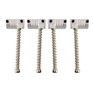 ALLPARTS Bridges 6082 BP-2071-001 Set of 4 Grooved Saddles for Omega and Badass Bass Bridge ブリッジサドル