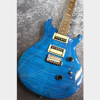 Paul Reed Smith(PRS) SE Custom24 Blue Matteo #C06619 【入門者おススメ】【美杢個体】【人気カラー】