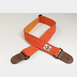 CHUMSGUITAR STRAP SWEAT NYLON H-SPICE/ORANGE ギターストラップ 【福岡パルコ店】