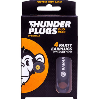 BANANAZ ThunderPlugs Duo Pack イヤープロテクター