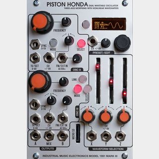 Industrial Music Electronics Piston Honda MK3【展示品】