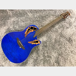 Ovation Celebrity Elite Exotic Mid Depth CE44P 8TQ (Caribbean Blue) 【展示入替特価】【エレアコ】