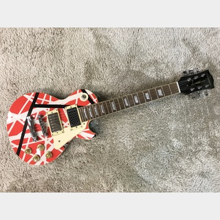 EDWARDS E-LP-48S-VH 【中古美品】【アンプ内蔵ミニギター】