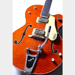 Gretsch G6120SSL Brian Setzer Nashville Orange 【Stray Cats新譜記念特価】【駅前店】