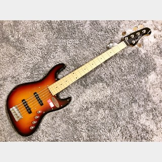 Bacchus WL-534 ACT/M 3TS -Global Series- 【アウトレット特価】【5弦ベース】