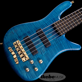 "Warwick Custom Shop Streamer Stage I 5st ""1990 Type"" (Turquoise Blue Transparent Satin) 【特価】"