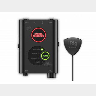 IK Multimedia iRig Acoustic Stage  ◆【アコギ用マイク+プロセッサー!】