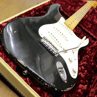 Fender Custom Shop MBS 1957 Stratocaster Heavy Relic -Black- by Todd Krause マスタービルダー 2017年製です