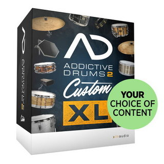 XLN Audio Addictive drums2 Custom XL