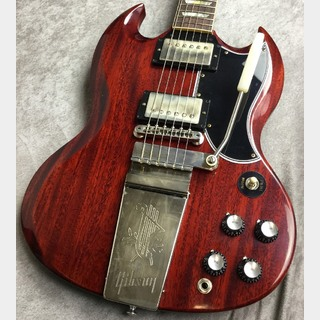 Gibson Custom ShopJapan Limited 1964 SG Standard Reissue w/Maestro and Grovers Medium Cherry VOS #002132【3.32kg】