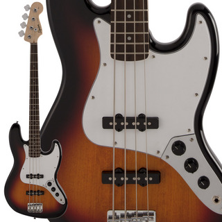 Squier by Fender FSR Affinity Series Jazz Bass 3-Color Sunburst