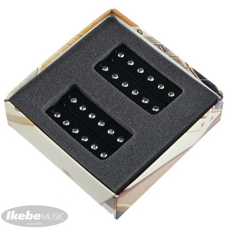 Bare Knuckle Aftermath humbucker Set Open Black