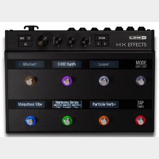 LINE 6 HX Effects【NAMM話題の新製品!】<予約受付中!>