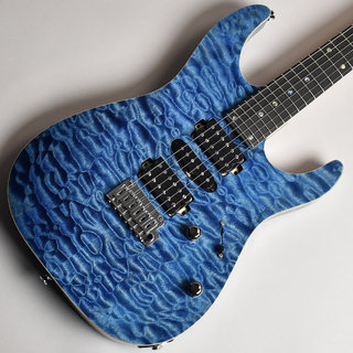 T's Guitars DST-Pro24 Quilt Top Arctic Blue S/N:031655 【未展示品】