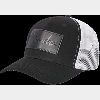 Fender 【在庫アリ即納可!!】Debossed Logo Adjustable Hat, Black and White