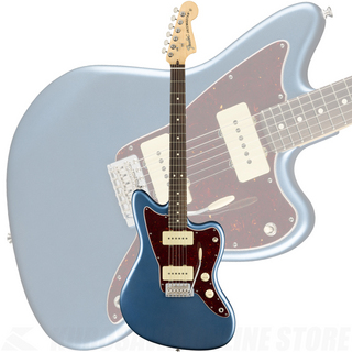 Fender American Performer Jazzmaster, Rosewood Fingerboard, Satin Lake Placid Blue