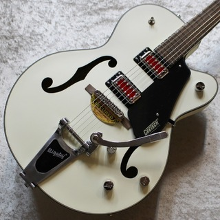 "Gretsch G5410T Electromatic ""Rat Rod"" Hollow Body Single-Cut with Bigsby Matte Vintage White #KS20014329"