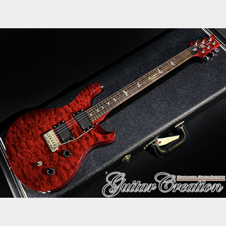 Paul Reed Smith(PRS) 25th Anniversary SE Custom 24 Scarlet Red Quilt Maple Top 2010年製【EMG PICK UP MOD】3.21kg