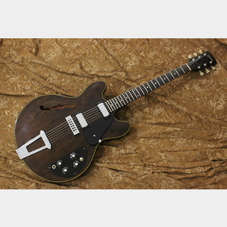 "Gibson 1972 ES-325TD ""Walnut Finish with Black Binding"""