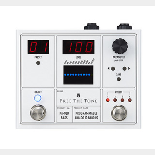 Free The TonePA-1QB PROGRAMMABLE ANALOG 10 BAND EQ ベース用 イコライザー 【梅田店】