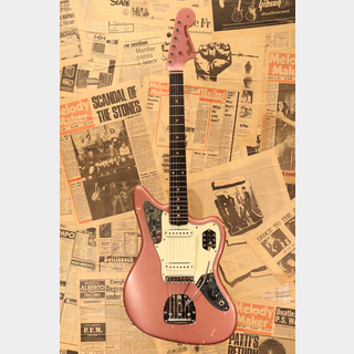 "Fender 1962 JAGUAR ""Original Burgundy Mist with Flat Pole Piece Pickups"""