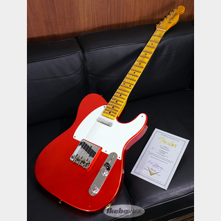 "Fender Custom Shop 2020 Time Machine Series ""1957 Telecaster Journeyman Relic"" Aged Candy Apple Red SN.CZ546666"