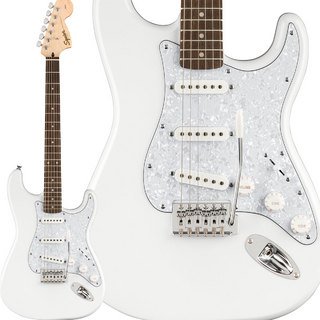 Squier by Fender FSR Affinity stratocaster White Pearl
