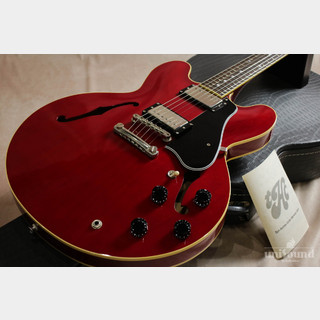TOM HOLMES Semi Hollow Standard Dot Cherry