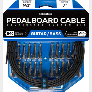 BOSS BCK-24 『Pedalboard cable kit, 24connectors, 7.3m』~ソルダーレスケーブル~