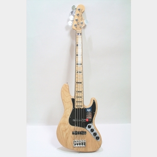 Fender American Elite Jazz Bass V ASH Maple Fingerboard / Natural
