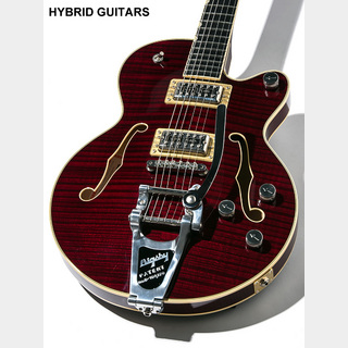 Gretsch G6659T Players Edition Broadkaster Jr. Center Block Single-Cut Dark Cherry Stain