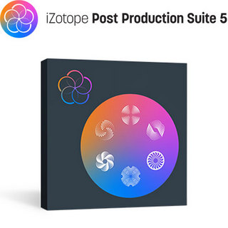 iZotope iZotope RX Post Production Suite5【ダウンロード版】【代引き不可】 [新品]