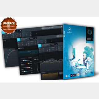 iZotopeOzone 9 Standard: upgrade from Ozone 5-8 Standard (or Ozone 5-8 Advanced)【WEBSHOP】