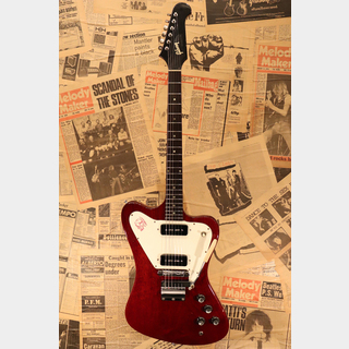 "Gibson 1966 Firebird I ""Non-Reverse"" Original Cherry Red Finish"