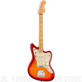 Fender American Ultra Jazzmaster,Maple Fingerboard,Plasma Red Burst【小物セットプレゼント!】