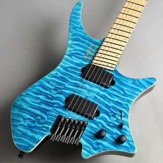 strandberg Boden J6 Standard 5A Quilted Maple/Light Blue エレキギター