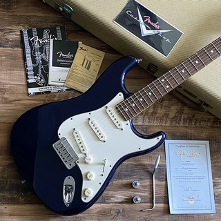 Fender Custom Shop Custom Stratocaster Porsche Lapis Blue Metallic by Todd Krause 2009