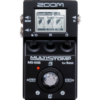 ZOOM MS-60B-I MultiStomp Bass Pedal Black Limited 【新宿店】