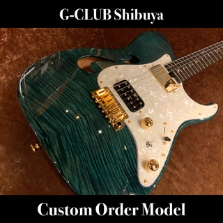 T's Guitars DTL-22 Semi Hollow -Slate-【G'CLUB Shibuya Custom!!】