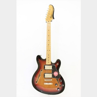 Squier by Fender Classic Vibe Starcaster, Maple Fingerbaord / 3-Color Sunburst