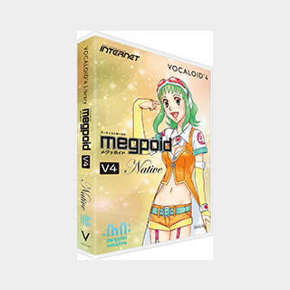 INTERNET (インターネット)VOCALOID4 Library Megpoid V4 Native【ボーカロイド】【GUMI】