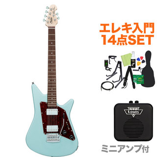 Sterling by MUSIC MAN ALBERT LEE SIGNATURE DBL エレキギター初心者14点セット 【ミニアンプ付き】