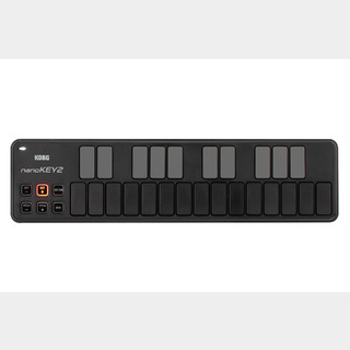 KORG nanoKEY2 SLIM -LINE USB KEYBOARD【BLACK】